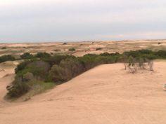 Médanos y dunas del faro