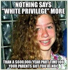 more like clinton privilege....