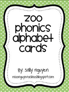 photograph relating to Zoo Phonics Printable referred to as 52 Perfect Zoo Phonics photographs inside of 2014 Battling site visitors