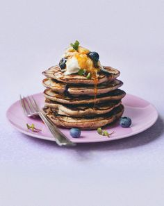 Blueberry Pancakes / Chantelle Grady