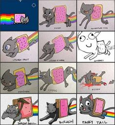 Nyan Cat Lauren Faust and Disney are the best