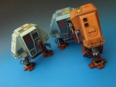 The Silent Running Drones