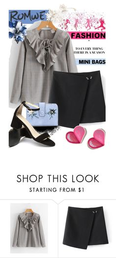 """""""ROMWE - FASHION"""" by saaraa-21 ❤ liked on Polyvore featuring romwe, shop, womensFashion and polyvorefashion"""