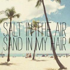 Salt in the Air, Sand in my Hair