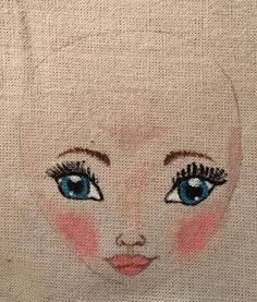 my doll face. Doll Face, Dolls, Handmade, Baby Dolls, Hand Made, Puppet, Doll, Baby, Girl Dolls