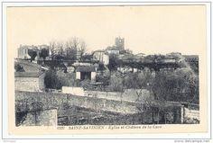 SAINT-SAVINIEN   ----   Eglise et Château de la Cave