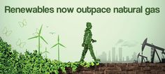 Renewable energy will surpass natural gas as the planet's No. 2 electricity source by 2016. #environment #energy