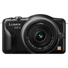 Panasonic Lumix DMC-GF3 Digital Camera with 14mm Lens Kit (Black)