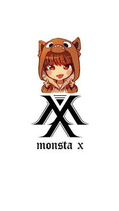 Monsta X Hyungwon, Kihyun, Shownu, Vkook Fanart, Im Changkyun, K Idol, Kpop, Starship Entertainment, Jack Skellington