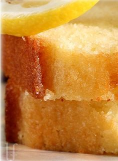 Lemon Bread Recipe ~ Luscious, lemony, speckled with zest and very moist... it's amazing!