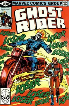 Cover for Ghost Rider (Marvel, 1973 series) #46 July 1980