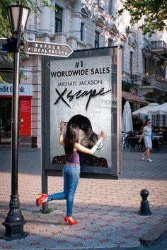 "Michael Jackson's new album ""Xscape"", promo in Turkey, June 2014."