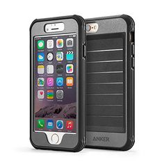 iPhone 6 Case, Anker® Ultra Protective Case With Built-in Clear Screen Protector for iPhone 6 (4.7 inch) Drop-Tested, Dust Proof Design (Black/Grey) Anker http://www.amazon.com/dp/B00PTHU9BO/ref=cm_sw_r_pi_dp_0Nc1ub0JGXHZC