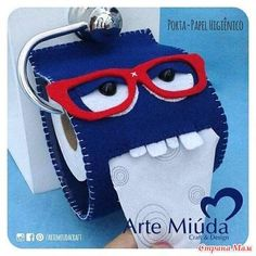 Love it made out of felt ! Great Idea and fun ! Felt Crafts, Fabric Crafts, Sewing Crafts, Diy And Crafts, Sewing Projects, Crafts For Kids, Projects To Try, Arts And Crafts, Felt Art