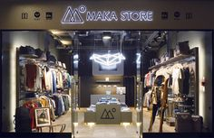 MAKA Store by LΛNGE & LΛNGE, via Behance