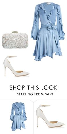 """Untitled #3181"" by ana-bieber ❤ liked on Polyvore featuring Zimmermann, Jimmy Choo and Miss Selfridge"