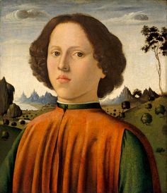 Biagio d'Antonio, Portrait of a Boy, c. 1476-80, Washington, National Gallery of Art