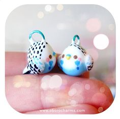 Blue budgie charms back in stock! Available here!http://www.oborocharms.com/collections/Bird