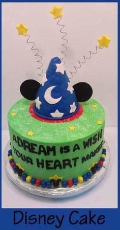 Disneyland Cake