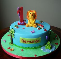 Jungle cake by cakespace - Beth (Chantilly Cake Designs), via Flickr