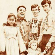 Guy and Pip with German Moreno and Ike Lozada in the early Nora Aunor, Sampaguita, Jose Rizal, Filipino Culture, Filipiniana, Manila Philippines, Oldies But Goodies, Pinoy, Superstar