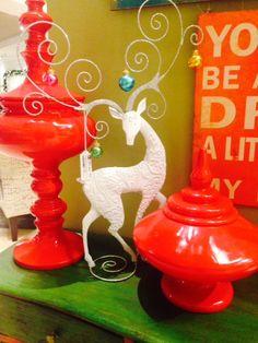 There's a #reindeer around every corner at Art Van #WinterWonderland