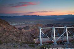 Zip-line above Boulder City, Nevada.