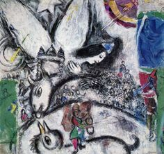 """Marc Chagall - """"The Big Circus"""", 1968"""