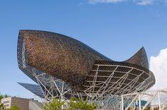 El pez de acero de Frank Gehry.