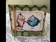 Bird Crazy Tim Holtz Card
