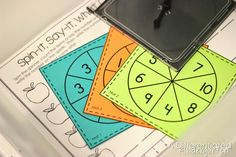 FREE differentiated spinner activity to get you started differentiating by color.