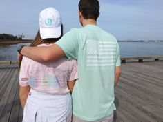 Fall in Love this Spring in our Ladies 'Live Colorfully' Tee Inspired by Charleston's Rainbow Row.