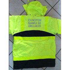 Nos références - CH NOYON - SAMU 60 - AMBULANCIER - vision'TEXT