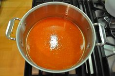 creamless tomato soup - Marin Mama Cooks