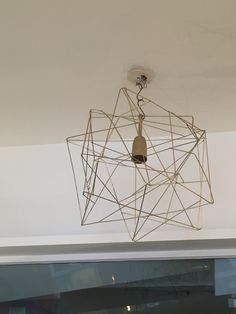I would love something this interesting in terms of shape for the foyer light.