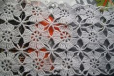 Diy Crafts - Crochet World added a new photo with Mariajose Dasilva and 8 others. Crochet Bolero Pattern, Crochet Motifs, Crochet Flower Patterns, Crochet Jacket, Crochet Diagram, Crochet Squares, Crochet Shawl, Crochet Designs, Crochet Doilies