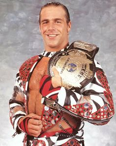 HBK. Shawn Michael. WWF and WWE Superstar. WWE champion. Legend.