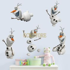 Frozen Olaf Repositionable Wall Stickers For Baby Rooms & Nursery #wallstickers #walldecals #adults #teens #boys #girls #babies #kids #nursery #disney #christmas #kitchen #bedrooms #animals #love #fashion #style #stylish #shopping #cool #cute #amazing #fun #funny #beautiful #follow #followme #shoutout #likes #comment