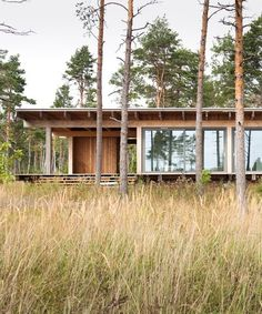 Nature Architecture, Architecture Design, Wooden Summer House, Container Van House, Tiny Beach House, Into The West, A Frame House, Timber House, Forest House