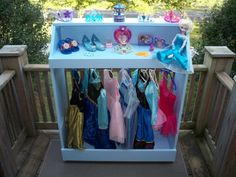 Where Dreams come true and imagination comes ALIVE!! Do you want to be a beautiful Princess or Superhero? Hummel Creations Dress Up Storage