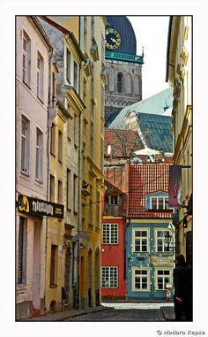 Riga, Lativa.  Old Riga is gorgeous.