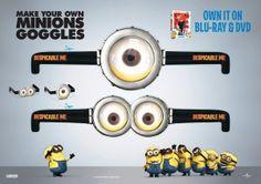 Despicable Me Minions Goggles