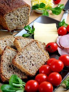 Chleb graham z siemieniem, na zakwasie | Smaczna Pyza