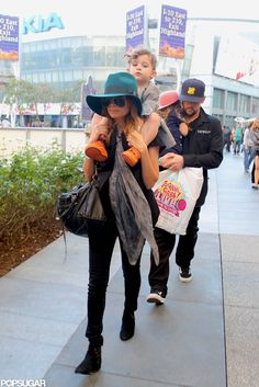 Nicole Richie and Joel Madden took Harlow and Sparrow to the Yo Gabba Gabba! Live show in LA in November 2012.