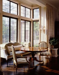 The Enchanted Home: Cathy Kincaid striped chairs, settee, windows Home Interior, Interior Architecture, Interior Decorating, Interior Design, Decorating Ideas, Classical Architecture, Decorating Websites, Decor Ideas, Chateau Hotel