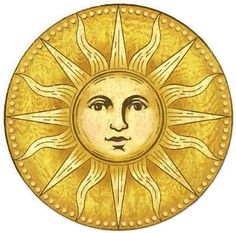 vintage clip art old fashioned sun with face sun clip