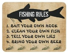 Fishing, Told You So, Bring It On, Peaches, Pisces, Gone Fishing