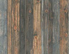 Vliesové tapety na stenu - HNEDO-ŠEDÁ - DREVO 9086-12 - 0,53m x 10,05m
