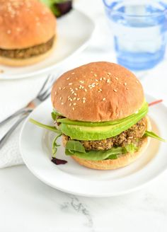 Gluten Free Spicy Black Bean Oat Burgers | NOURISHEDtheblog.com | A simple and easy black bean burger recipe with a little spicy kick. #vegetarian #easydinnerrecipe #glutenfree