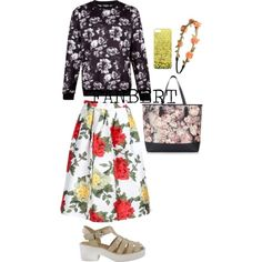 """Flowers"" by tiffanybertharia-fanbert on Polyvore"